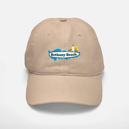 Bethany Beach DE - Surf Design. Baseball Baseball Cap