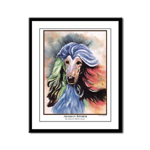 Afghan Storm Framed Panel Print
