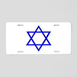 STAR OF DAVID Aluminum License Plate