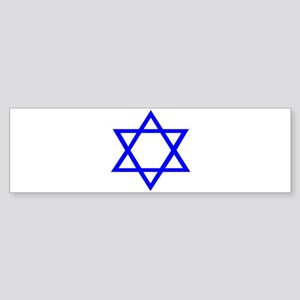 STAR OF DAVID Sticker (Bumper)