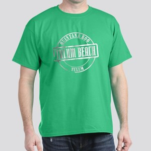 Tulum Beach Title Dark T-Shirt