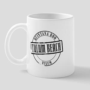 Tulum Beach Title Mug