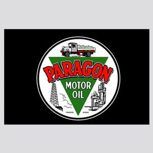 Paragon Motor Oil Large Poster