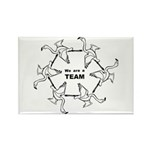 We Are Team Rectangle Magnet (100 pack)