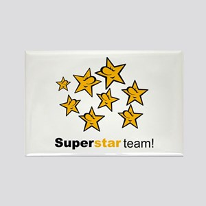 SuperStar Team Rectangle Magnet