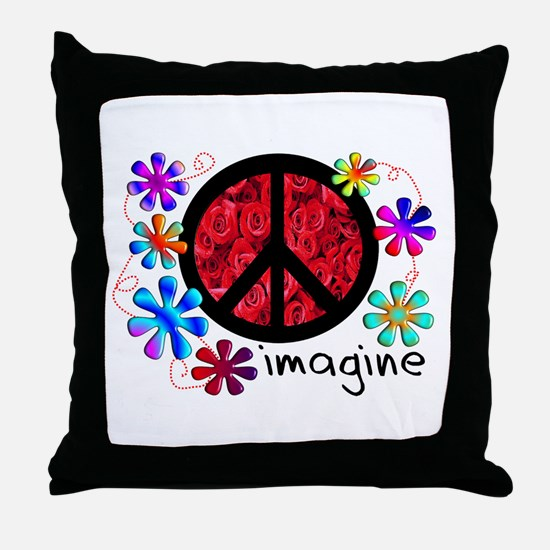 Retro Vintage 70's Throw Pillow