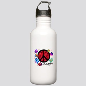 Retro Vintage 70's Stainless Water Bottle 1.0L