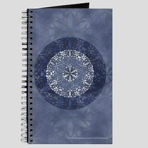 Sacred Geometry in Blue Journal