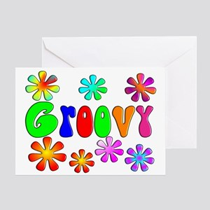 Retro Vintage 70's Greeting Card