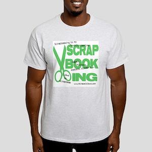 Scrapbooking - Green Ash Grey T-Shirt