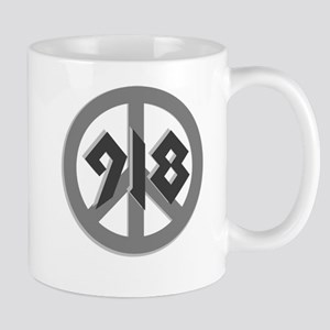Shades of Gray 918 Peace Mug