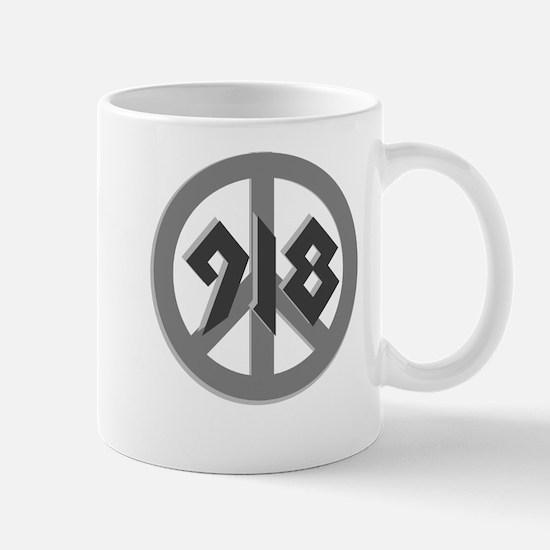 Shades of Gray 918 Peace Mug