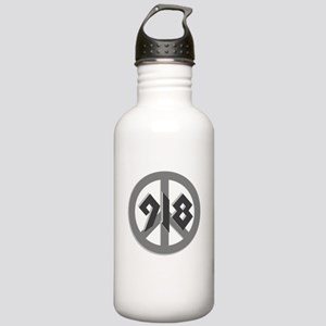 Shades of Gray 918 Peace Stainless Water Bottle 1.