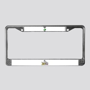 WORLD'S BEST MOM (FROGS) License Plate Frame