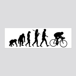 Cycling Evolution 20x6 Wall Decal