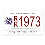 Pro-Choice Plates (10 stickers)