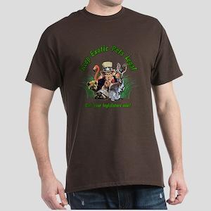 Keep Exotic Pets Legal Dark T-Shirt