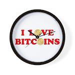 Bitcoins-4 Wall Clock