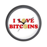 Bitcoins-4 Wall Clock