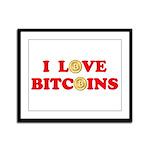 Bitcoins-4 Framed Panel Print