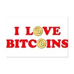 Bitcoins-4 Mini Poster Print