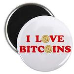 Bitcoins-4 Magnet