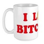Bitcoins-4 Large Mug