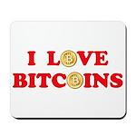 Bitcoins-4 Mousepad