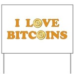 Bitcoins-6 Yard Sign