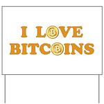 Bitcoins-6 Yard Sign
