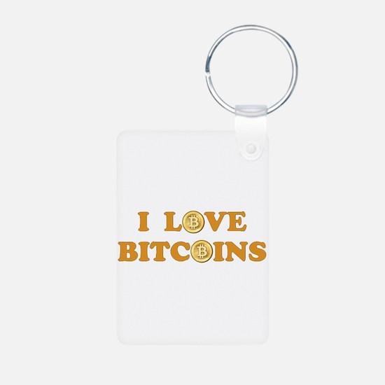 Bitcoins-6 Keychains