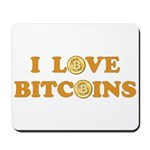 Bitcoins-6 Mousepad