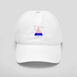 Fourth of July Food Pyramid Cap