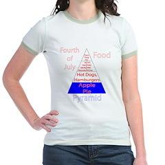 Fourth of July Food Pyramid T