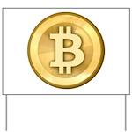 Bitcoins-5 Yard Sign