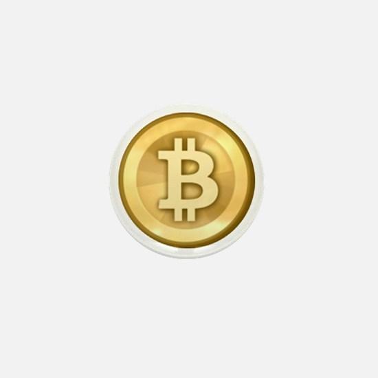 Bitcoins-5 Mini Button