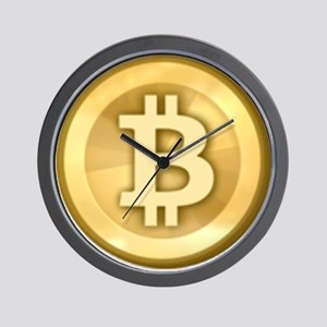 Bitcoins-5 Wall Clock