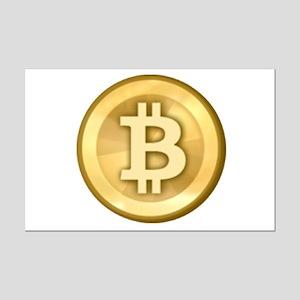 Bitcoins-5 Mini Poster Print