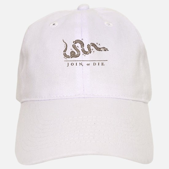 Join or Die Snake Baseball Baseball Cap
