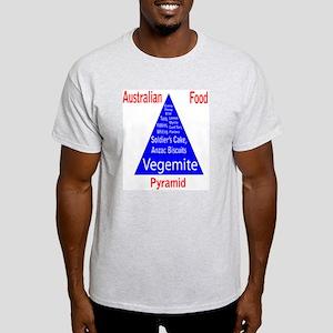 Australian Food Pyramid Light T-Shirt
