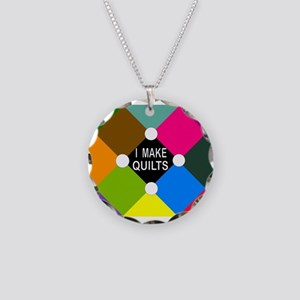SEW? Necklace Circle Charm