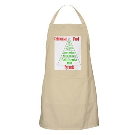 Californian Food Pyramid Apron