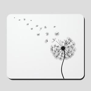 Blowing Dandelion Mousepad