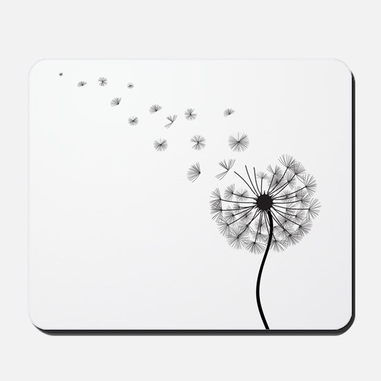 Blowing Dandelion Mousepad