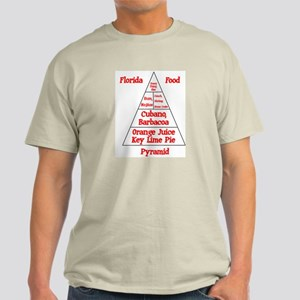 Florida Food Pyramid Light T-Shirt