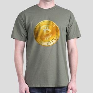 Bitcoins-1 Dark T-Shirt