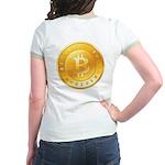 Bitcoins-1 Jr. Ringer T-Shirt