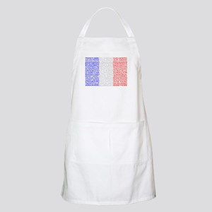 French Cities Flag Apron