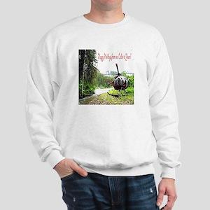Holiday Helicopter Cabin Sweatshirt