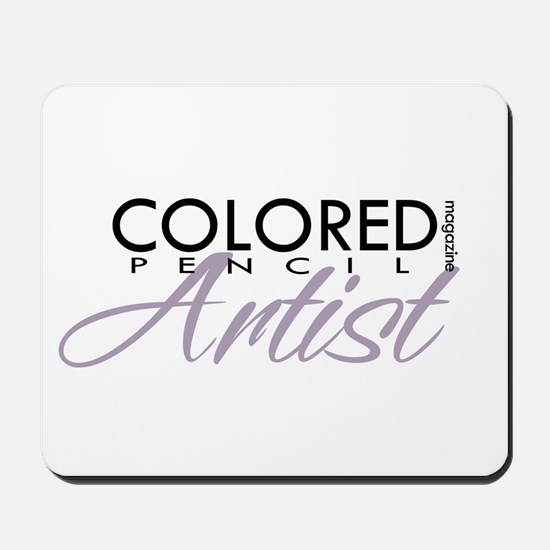 COLORED PENCIL Magazine - Pur Mousepad